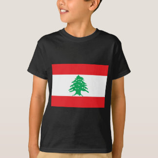 Low Cost! Lebanon Flag T-Shirt