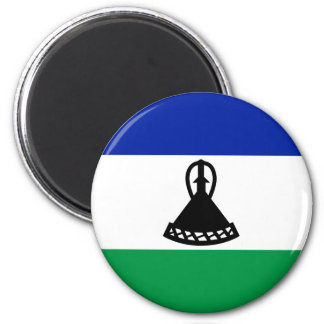 Low Cost! Lesotho Flag 6 Cm Round Magnet