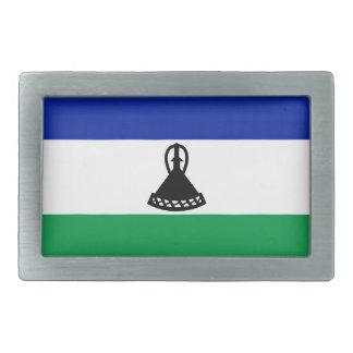 Low Cost! Lesotho Flag Belt Buckles