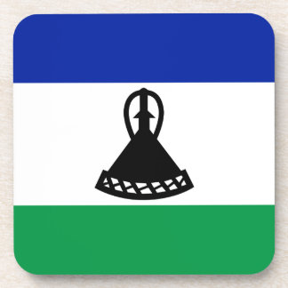 Low Cost! Lesotho Flag Coaster