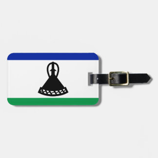 Low Cost! Lesotho Flag Luggage Tag