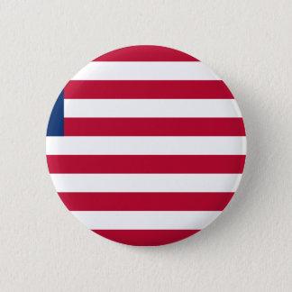 Low Cost! Liberia Flag 6 Cm Round Badge