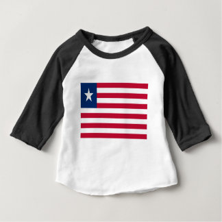 Low Cost! Liberia Flag Baby T-Shirt