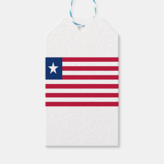 Low Cost! Liberia Flag Gift Tags