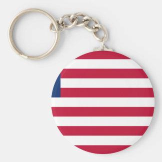 Low Cost! Liberia Flag Key Ring