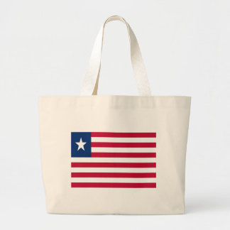 Low Cost! Liberia Flag Large Tote Bag