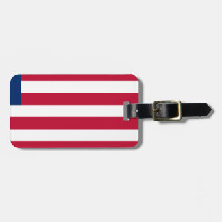 Low Cost! Liberia Flag Luggage Tag