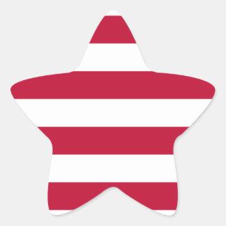 Low Cost! Liberia Flag Star Sticker