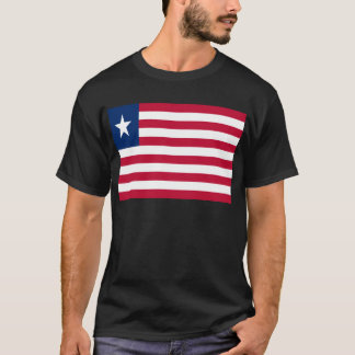 Low Cost! Liberia Flag T-Shirt