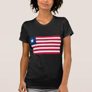 Low Cost! Liberia Flag T-Shirt