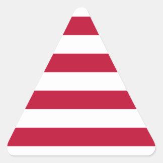 Low Cost! Liberia Flag Triangle Sticker