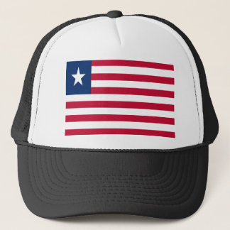 Low Cost! Liberia Flag Trucker Hat