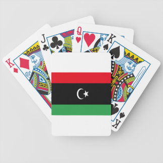 Low Cost! Libya Flag Bicycle Playing Cards