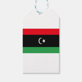 Low Cost! Libya Flag Gift Tags