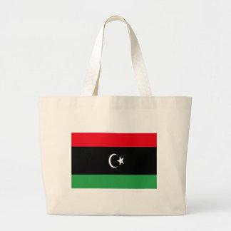 Low Cost! Libya Flag Large Tote Bag