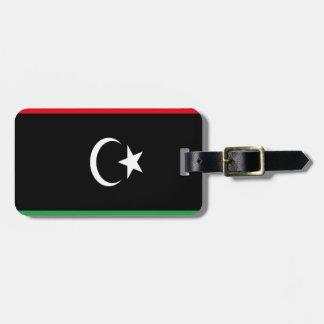 Low Cost! Libya Flag Luggage Tag