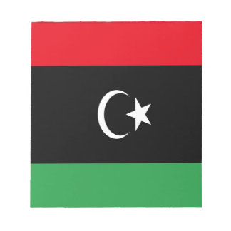 Low Cost! Libya Flag Notepad