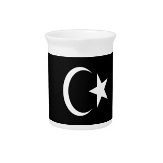 Low Cost! Libya Flag Pitcher