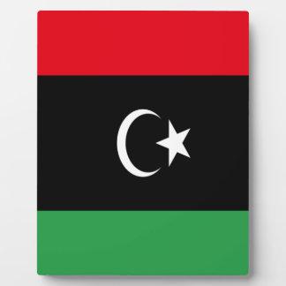 Low Cost! Libya Flag Plaque