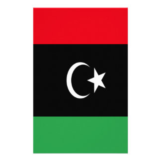 Low Cost! Libya Flag Stationery
