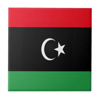 Low Cost! Libya Flag Tile
