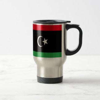 Low Cost! Libya Flag Travel Mug