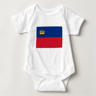 Low Cost! Liechtenstein Flag Baby Bodysuit