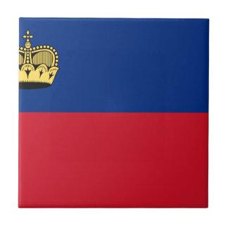 Low Cost! Liechtenstein Flag Ceramic Tile