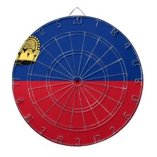Low Cost! Liechtenstein Flag Dartboard