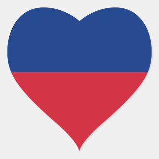 Low Cost! Liechtenstein Flag Heart Sticker
