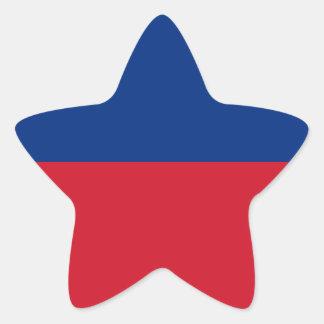 Low Cost! Liechtenstein Flag Star Sticker