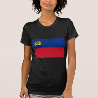 Low Cost! Liechtenstein Flag T-Shirt