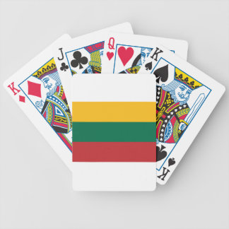 Low Cost! Lithuania Flag Bicycle Playing Cards