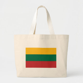 Low Cost! Lithuania Flag Large Tote Bag