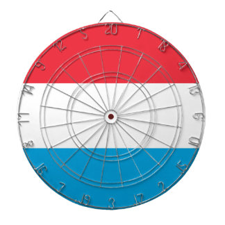 Low Cost! Luxembourg Flag Dartboard