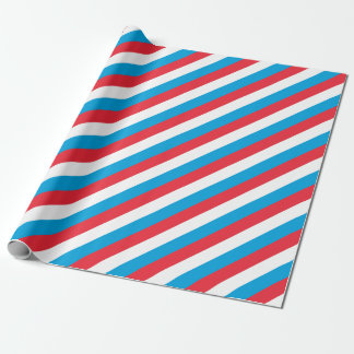 Low Cost! Luxembourg Flag Wrapping Paper