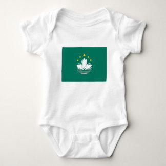 Low Cost! Macau Flag Baby Bodysuit