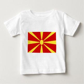 Low Cost! Macedonia Flag Baby T-Shirt