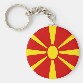 Low Cost! Macedonia Flag Key Ring