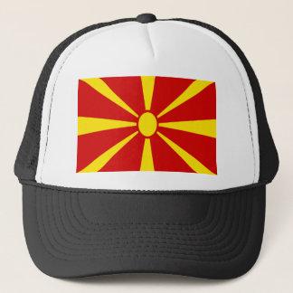 Low Cost! Macedonia Flag Trucker Hat
