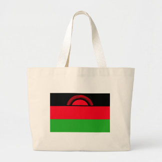 Low Cost! Malawi Flag Large Tote Bag