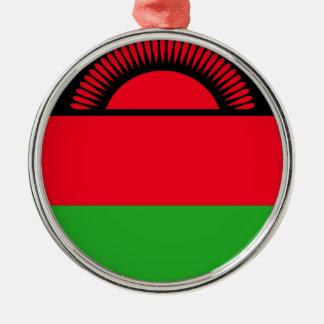 Low Cost! Malawi Flag Metal Ornament