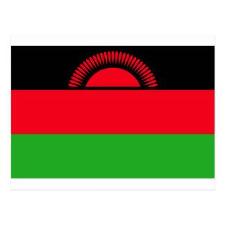 Low Cost! Malawi Flag Postcard