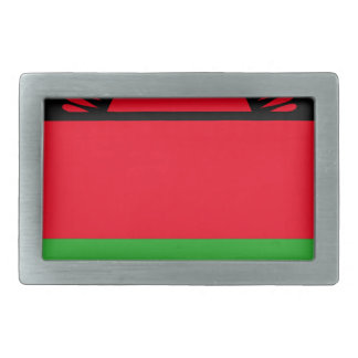Low Cost! Malawi Flag Rectangular Belt Buckles