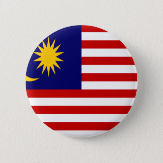 Low Cost! Malaysia Flag 6 Cm Round Badge