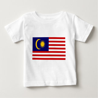 Low Cost! Malaysia Flag Baby T-Shirt