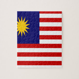 Low Cost! Malaysia Flag Jigsaw Puzzle