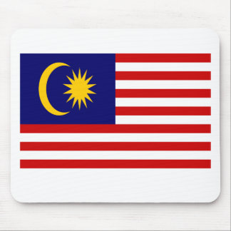 Low Cost! Malaysia Flag Mouse Pad