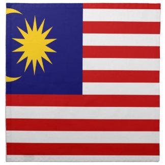 Low Cost! Malaysia Flag Napkin