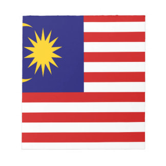 Low Cost! Malaysia Flag Notepad